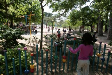 Parc de la roseraie du Val-de-Marne, jeux pour enfants