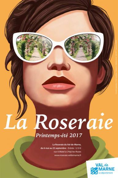 Ouverture 2017 de la Roseraie du Val-de-Marne