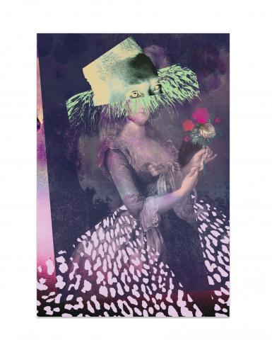 """Bread and roses"" estampe par Raphaël Barontini"